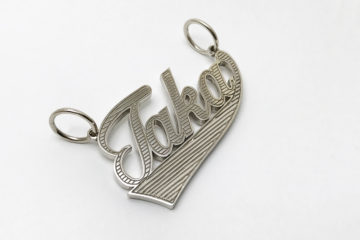 ordermade k10wg namenecklace10