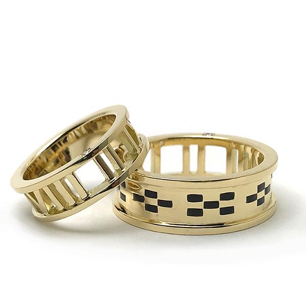 K18 WEDDING RINGS
