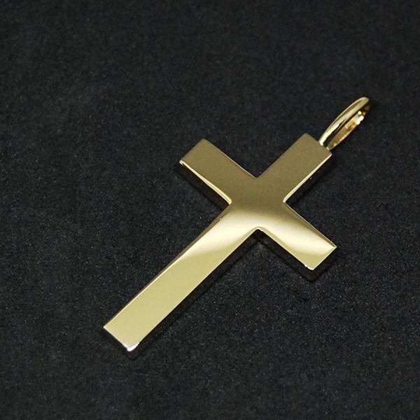 K18 CROSS PENDANT TOP