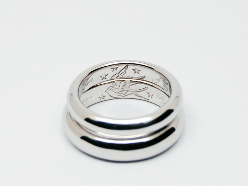 ORDERMADE Marriage ring/PT900