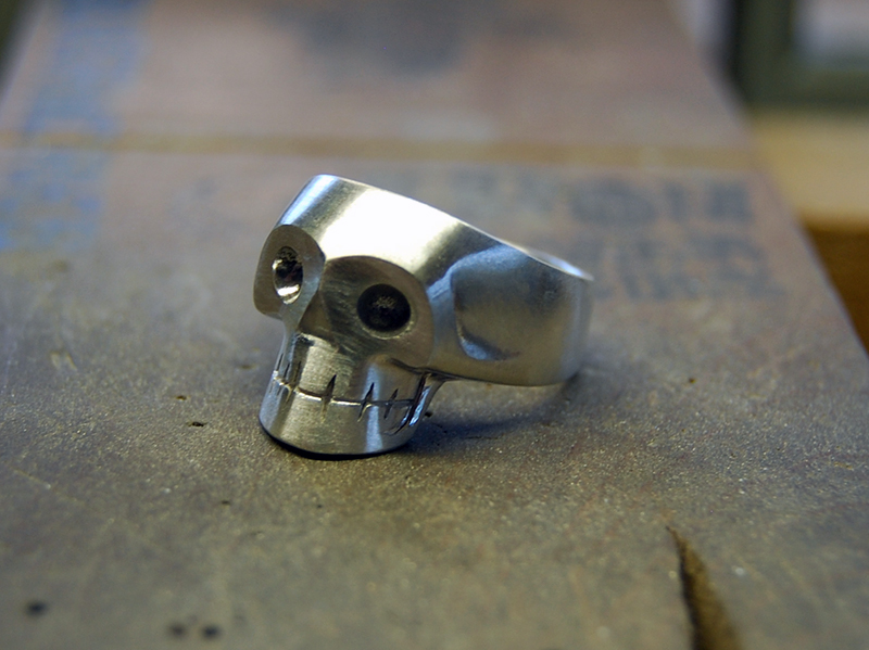 ORDERMADE Skull Ring1_18