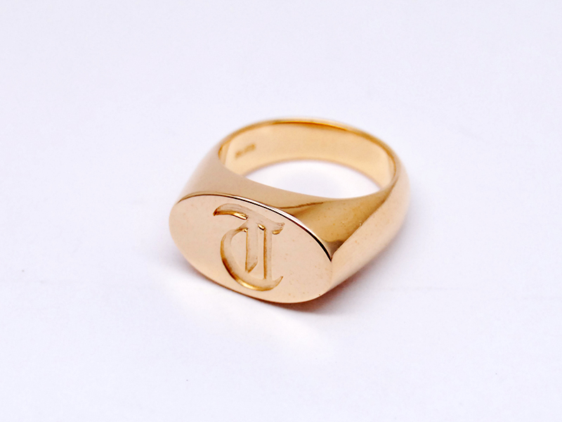 ORDERMADE T RING(K18GP)2