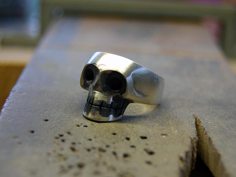 ORDERMADE Skull Ring1_19