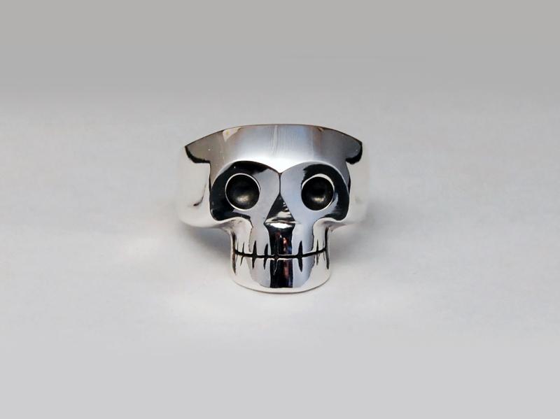 ORDERMADE Skull Ring1_24