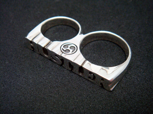 two finger ring/SV925
