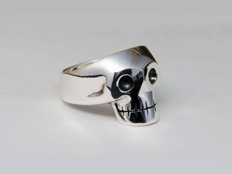 ORDERMADE Skull Ring1_25