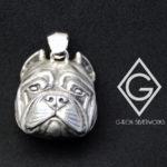 ORDERMADE Bulldog PendantTop/SV925
