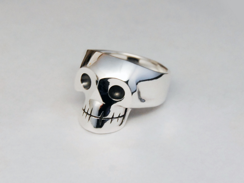 ORDERMADE Skull Ring1_28