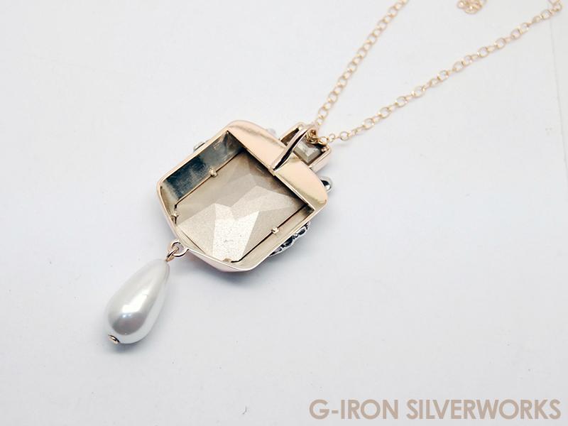 ORDERMADE K10YG PENDANT / Swarovski Crystal3