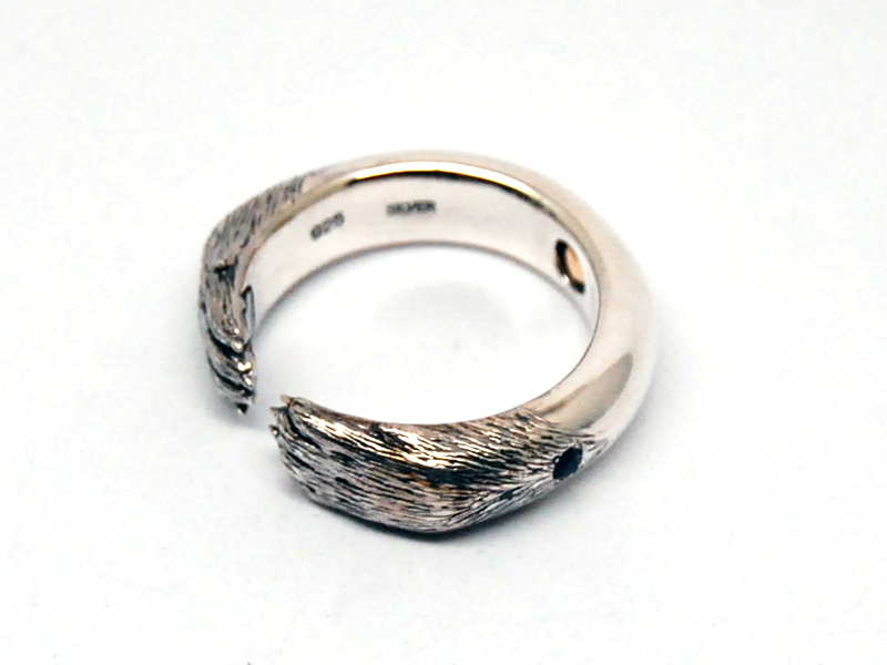 ORDERMADE Arm of the wolf Ring3