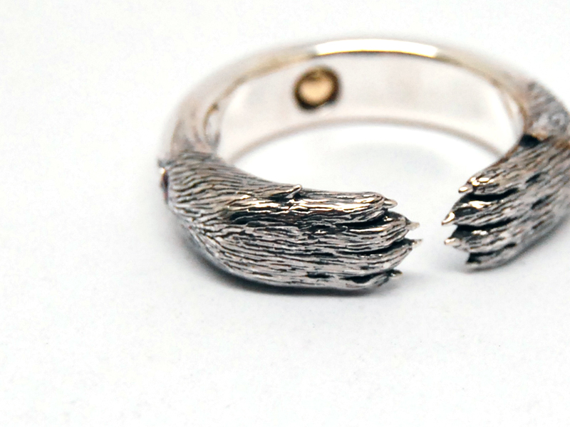ORDERMADE Arm of the wolf Ring4