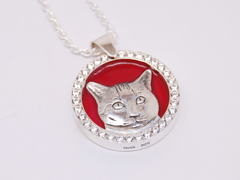 ORDERMADE CAT NECKLACE7