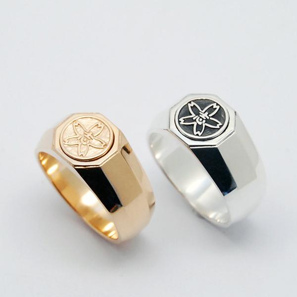 K18 & SV925 RING