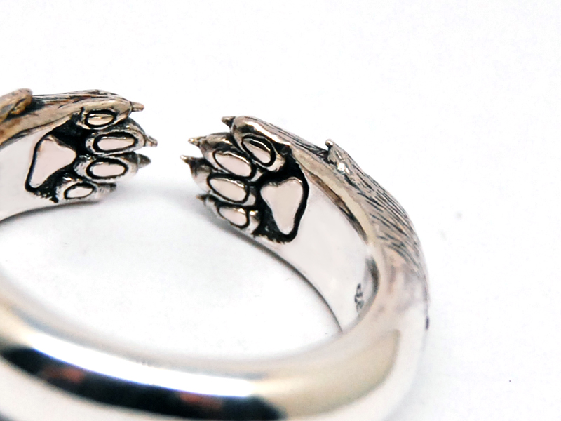ORDERMADE Legs of the wolf Ring9