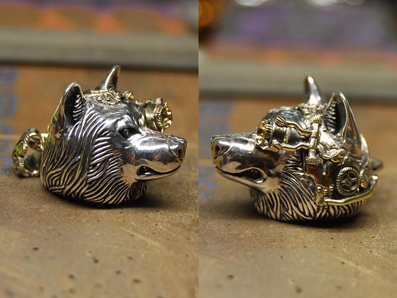 steampunk wolf 76