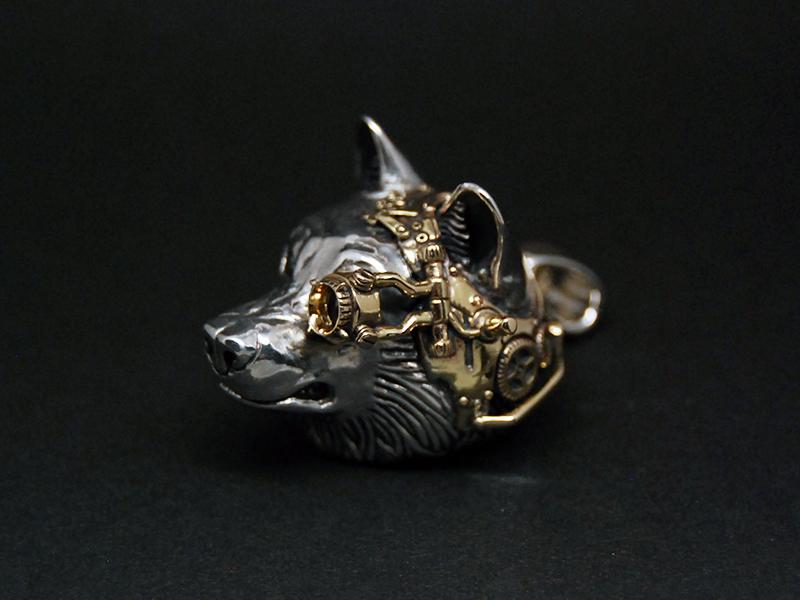 steampunk wolf 77