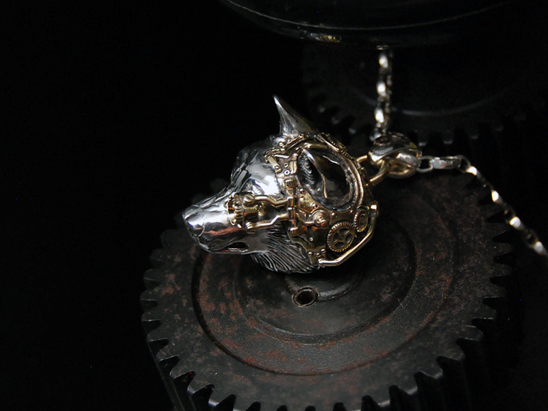 steampunk wolf 85