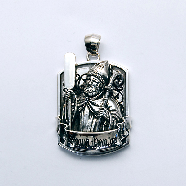 SV925 GREAT MAN PENDANT TOP
